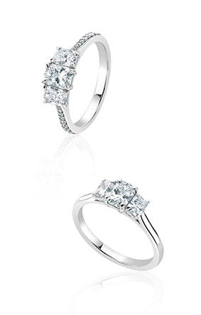 jewellery crystal by collection band lined ring sterling rose and roped costelloe engagement paul phoenix silver rings the